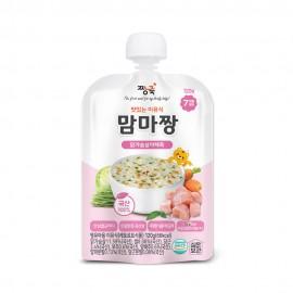 맘마짱 이유식 닭가슴살야채죽