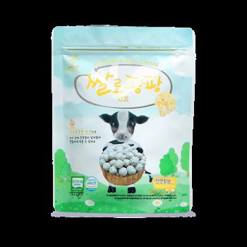 유기농 쌀로팡팡 치즈